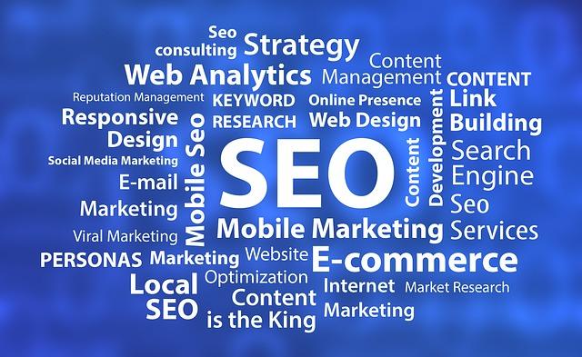 webové stránky a seo