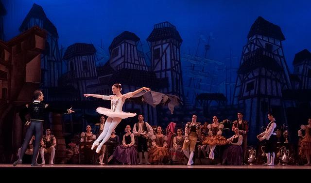 baletka a tanečník