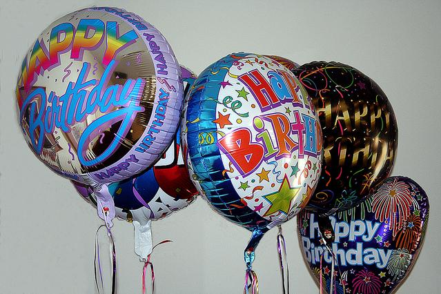 balonky na narozeniny