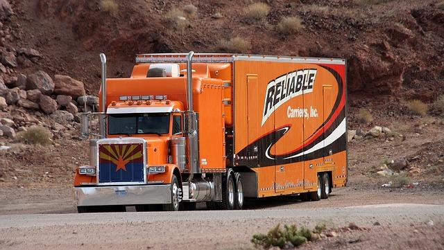 netradiční kamion