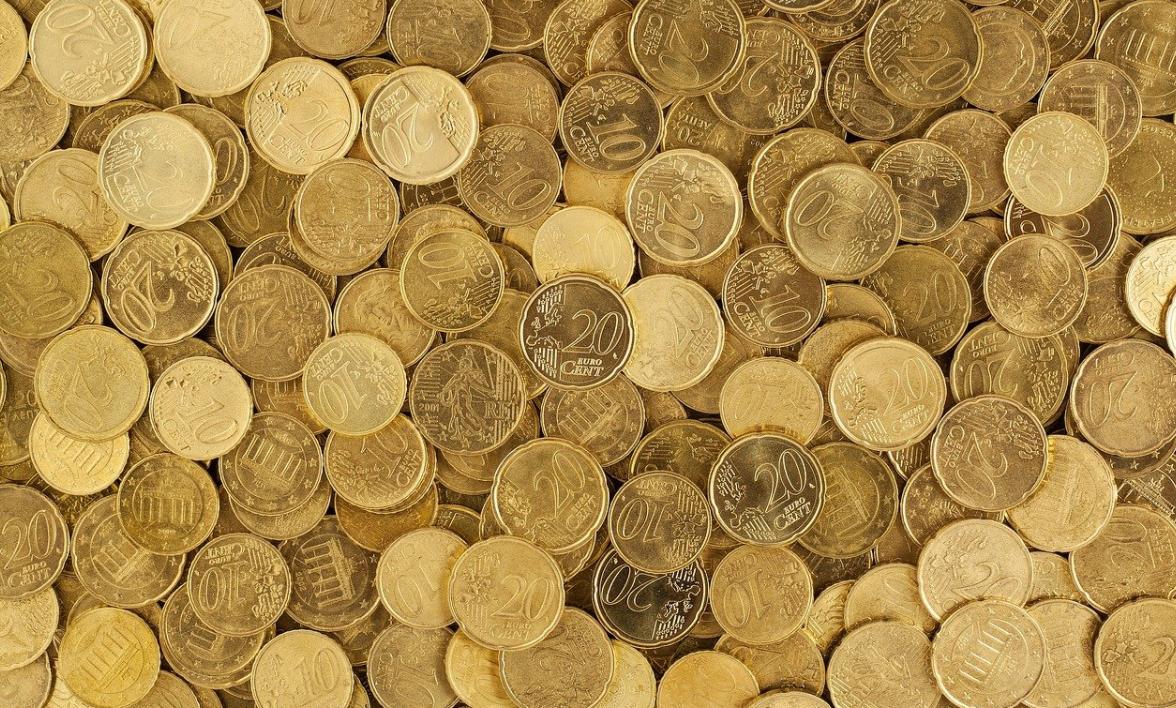 textura peněz